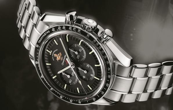 Картинка часы, 1957, OMEGA, Speedmaster