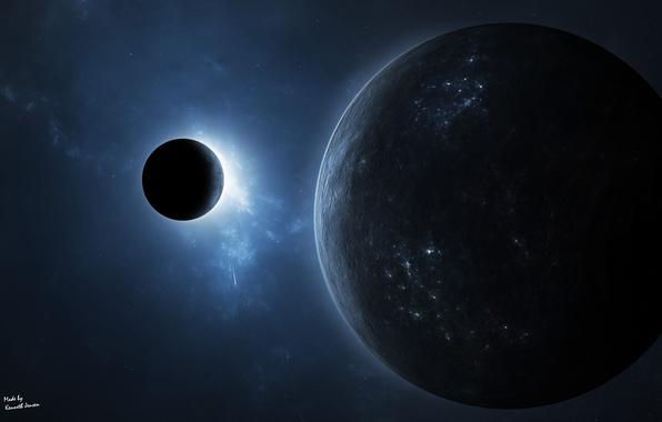 Обои картинки фото планета атмосфера