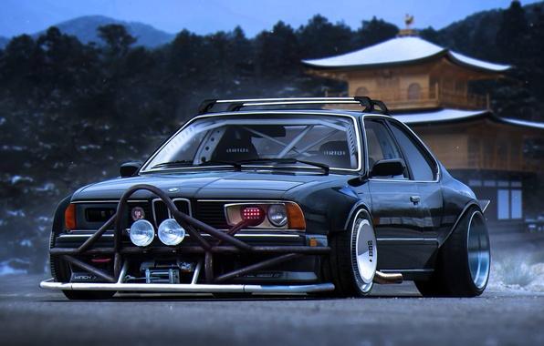 Картинка BMW, Tuning, Future, 635CSi, E24, by Khyzyl Saleem
