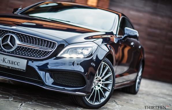 Картинка машина, авто, CLS, фотограф, Mercedes, Benz, диски, auto, photography, photographer, колёса, Thirteen