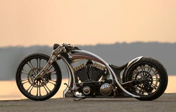 Картинка мотоцикл, bike, custom, unbreakable