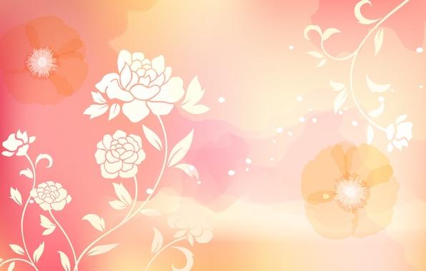 Картинка цветы, абстракция, abstract, design, flowers