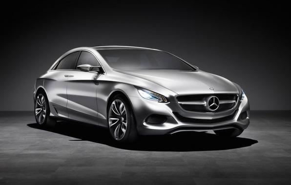 Картинка Mercedes-Benz, концепт, металлик, F800
