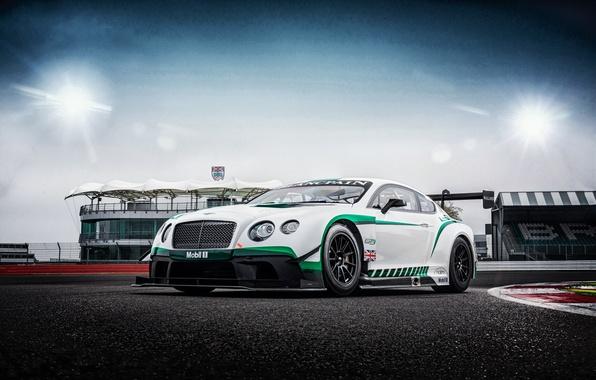 Картинка Bentley, Continental, GT3, бентли, континенталь