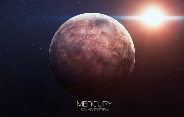 Картинка planet, Mercury, solar system