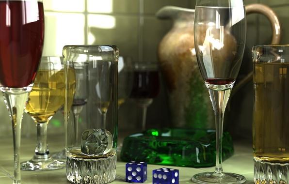 Картинка стиль, бокал, вина