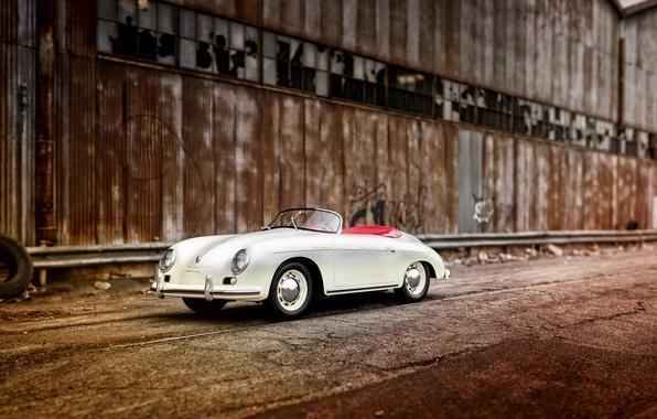 Картинка Porsche, порше, 1955, Speedster, Reutter, 356A
