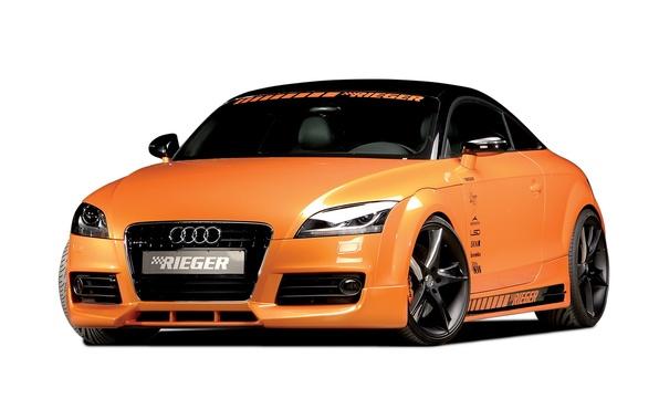 Картинка Audi, ауди, купе, 2010, Coupe, Rieger