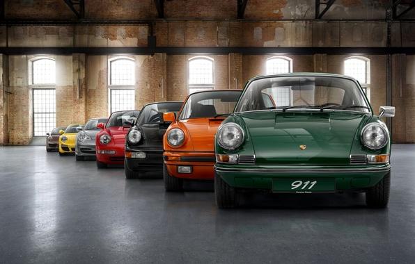 Картинка Porsche, Машины, Порше, Cars, Wallpaper, Mixed, Модельный ряд