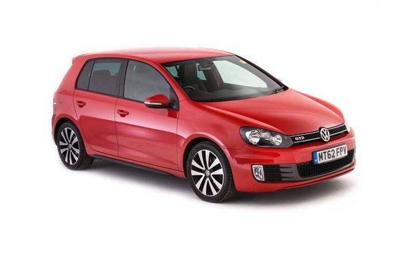 Картинка Volkswagen, белый фон, гольф, Golf, фольксваген