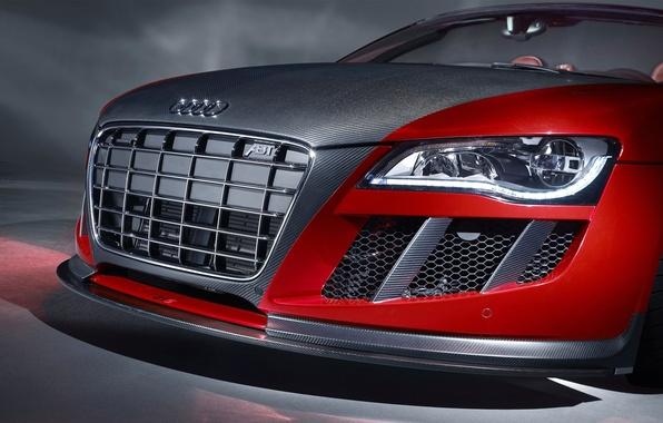 Картинка Audi, тюнинг, фара, решетка, автомобиль, ABT