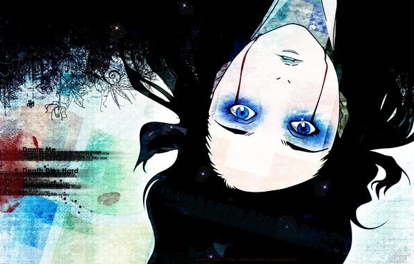 Картинка blood, blue eyes, ergo proxy