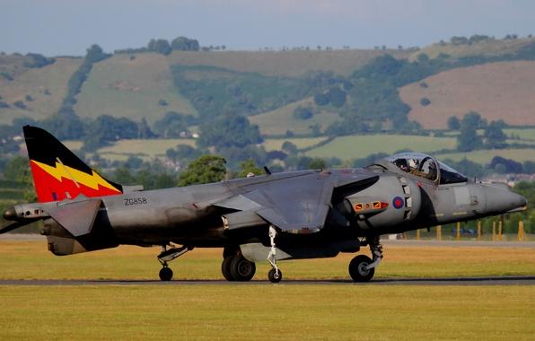 Картинка штурмовик, Harrier II, AV-8B, «Харриер» II