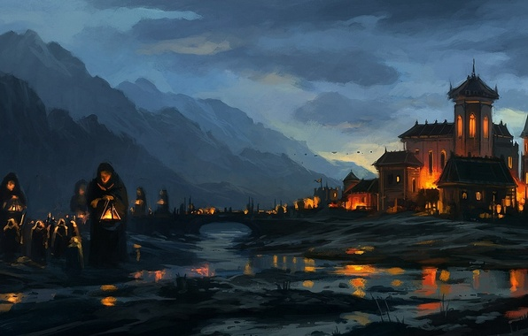 Монастырь картинка
