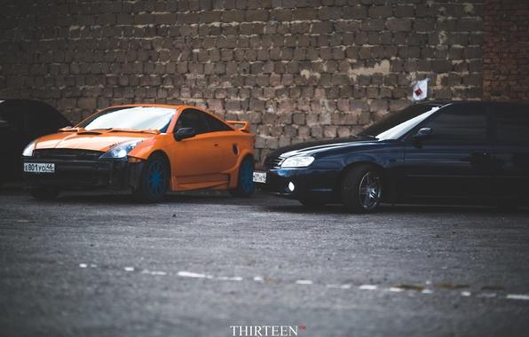 Картинка машина, авто, фотограф, Toyota, auto, photography, photographer, Celica, Thirteen