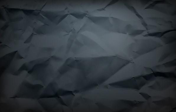 Картинка лист, фон, обои, черный, текстура, смятый