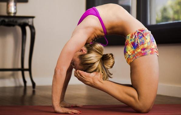 Картинка pose, head, yoga, feet
