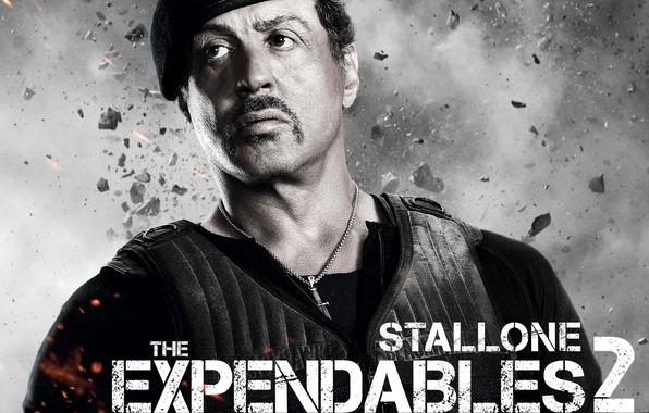 Картинка Солдат, Слай, Sylvester Stallone, Неудержимые 2, Expendables 2
