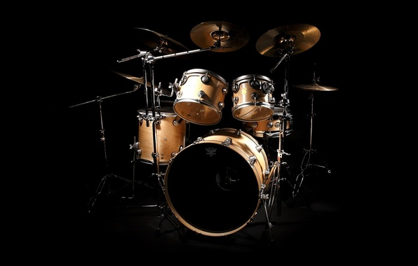 Фото обои барабаны, тарелки, ударник, drums
