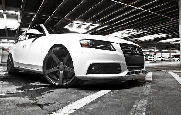 Картинка Audi, Авто, Диск, Тюнинг, Колесо, Машины, Парковка