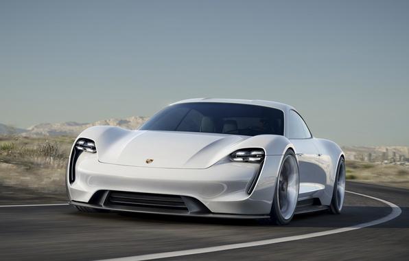 Картинка Concept, Porsche, концепт, порше, 2015, Mission E