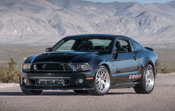 Картинка фон, Mustang, Ford, Shelby, Форд, Мустанг, передок, Muscle car, 1000, Мускул кар, S C