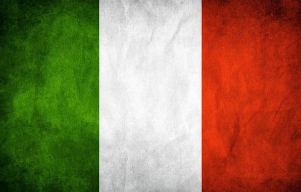 Картинка белый, цвета, красный, green, флаг, Италия, зелёный, red, white, Italy