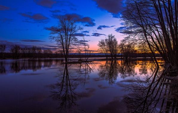 Фото канада онтарио озеро отражение