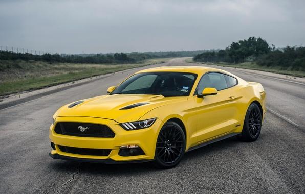 Картинка Mustang, Ford, мустанг, форд, Hennessey, Supercharged, 2015, HPE750