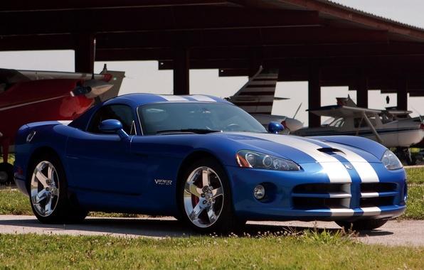 Картинка Dodge, суперкар, Viper, Coupe, передок, SRT10, Додж.Вайпер
