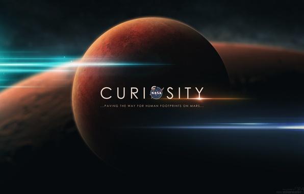 Картинка небо, космос, звезды, вселенная, планеты, NASA, curiosity