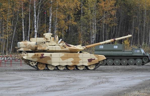 Картинка танк, Россия, Russia, бронетехника, военная техника, tank, Т-90 МС, УВЗ