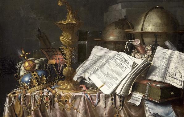 Картинка арт, книга, натюрморт, живопись, Золотой век