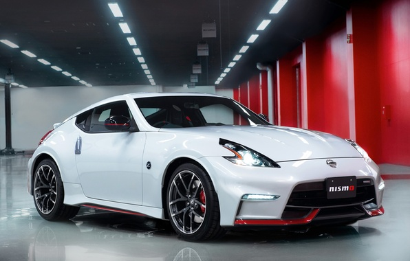 Картинка car, Nissan, ниссан, tuning, автообои, 370Z, Nismo