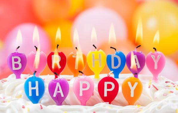 с днём рождения картинки свечи