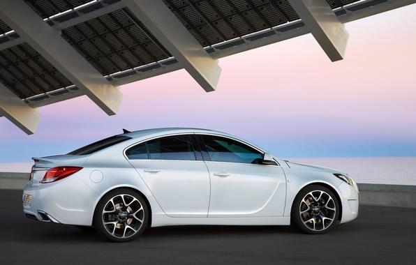 Opel insignia белая обои фото картинки
