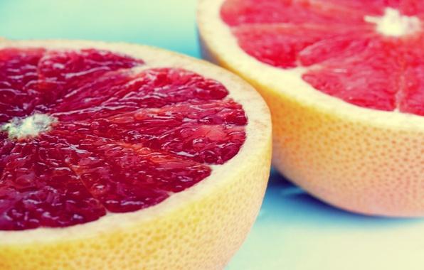 Картинка макро, плоды, фрукты, macro, грейпфрут, fruite