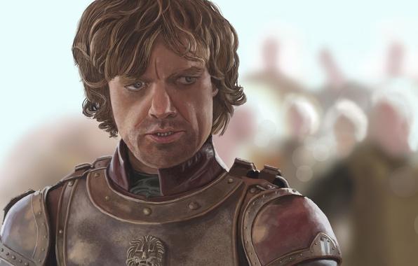 Картинка портрет, арт, Tyrion Lannister, Peter Dinklage