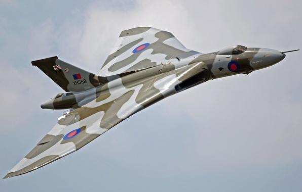 Картинка авиация, оружие, самолёт, Avro Vulcan