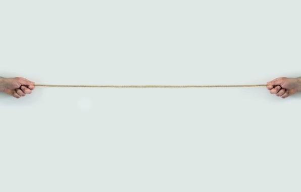 Картинка фон, руки, верёвка