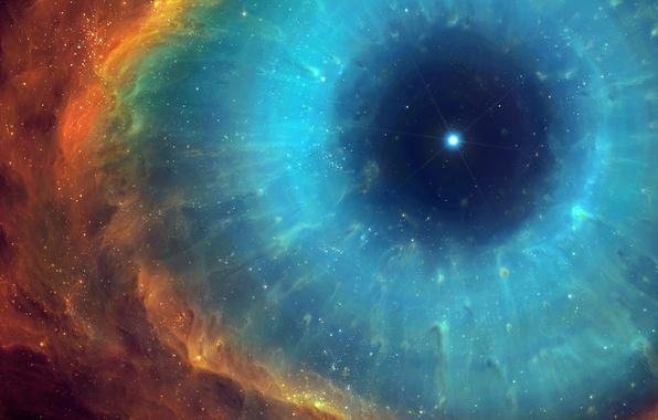 Картинка энергия, туманность, звезда, арт, космас