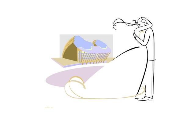 Картинка арт, пара, двое, свадьба, Ty Wilson