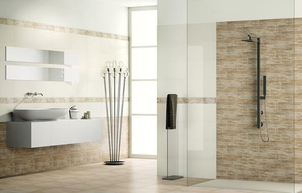 Картинка дизайн, дом, стиль, комната, вилла, интерьер, ванная
