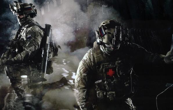 Картинка оружие, Россия, медик, обвес, Альфа, Управление «А», Группа «А», спецподразделение, ЦСН ФСБ, прибор ночного видения, …