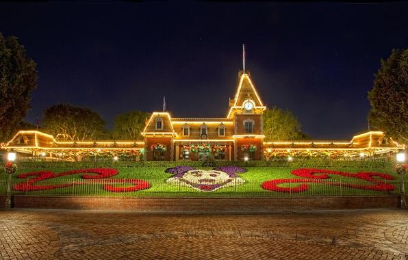 Картинка Рождество, Диснейленд, Christmas, Disneyland