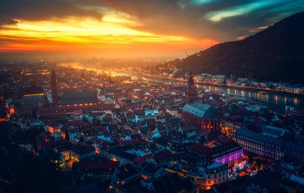 Картинка Германия, Хайдельберг, Heidelberg, Гейдельбергский замок