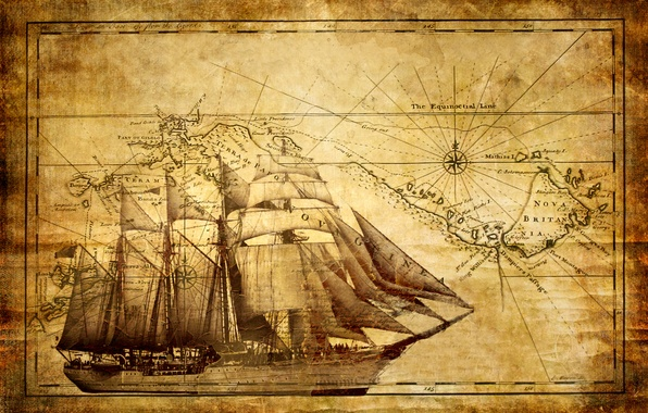 Парусник корабль обои фото картинки