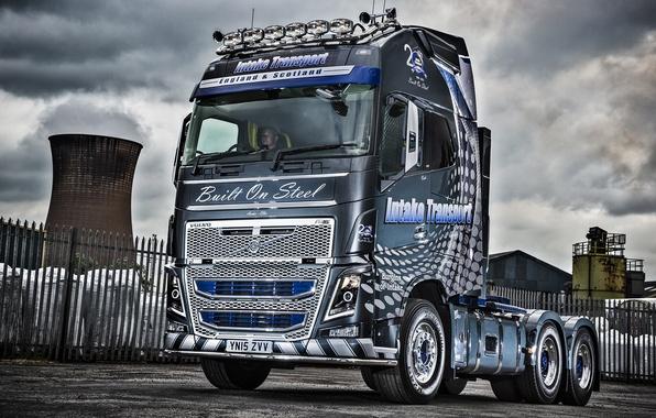 Картинка Volvo, грузовик, вольво, FH16, 6×4