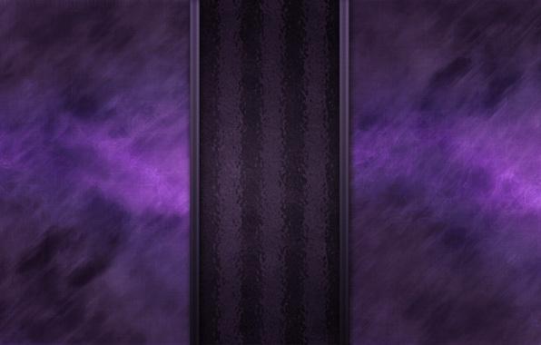 Картинка фиолетовый, линии, полоса, свечение, текстура, волнистый, темноватый