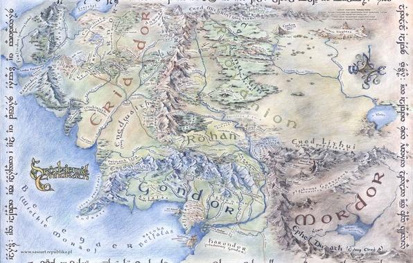 Картинка Властелин Колец, Гондор, The Lord of the Rings, John Ronald Reuel Tolkien, Кристофер Толкин, Angmar, …